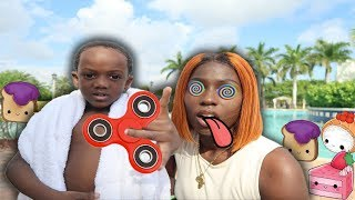 Super Siah Hypnotize's Mom To Take Him To The Swimming Pool