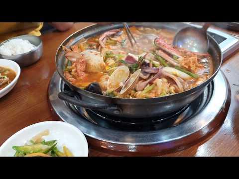 Fresh Spicy Seafood-Hemultang-Makanan Korea