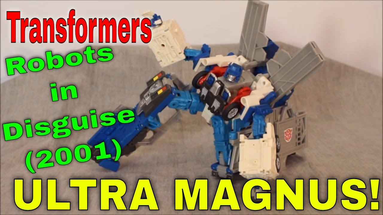 Road to Omega Prime, Part 1: RiD 2001 Ultra Magnus By GotBot