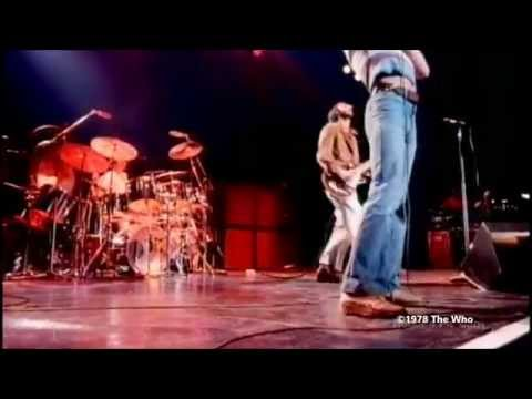 The Who at Shepperton Studios on 25 May 1978