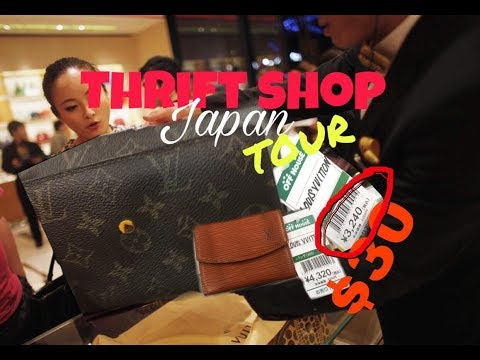 WHAT CAN I GET FOR $30 (BRANDED BAGS) AT RECYCLE SHOP JAPAN