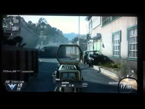 black ops 2 gameplay (Eminem Survival Clean)