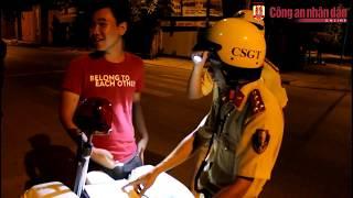 Thanh niên cứng cãi CSGT và cái kết đau. Lực lượng 363 trắng đêm giữ gìn ANTT