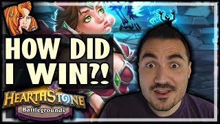 HOW DID I WIN THIS?? - Hearthstone Battlegrounds