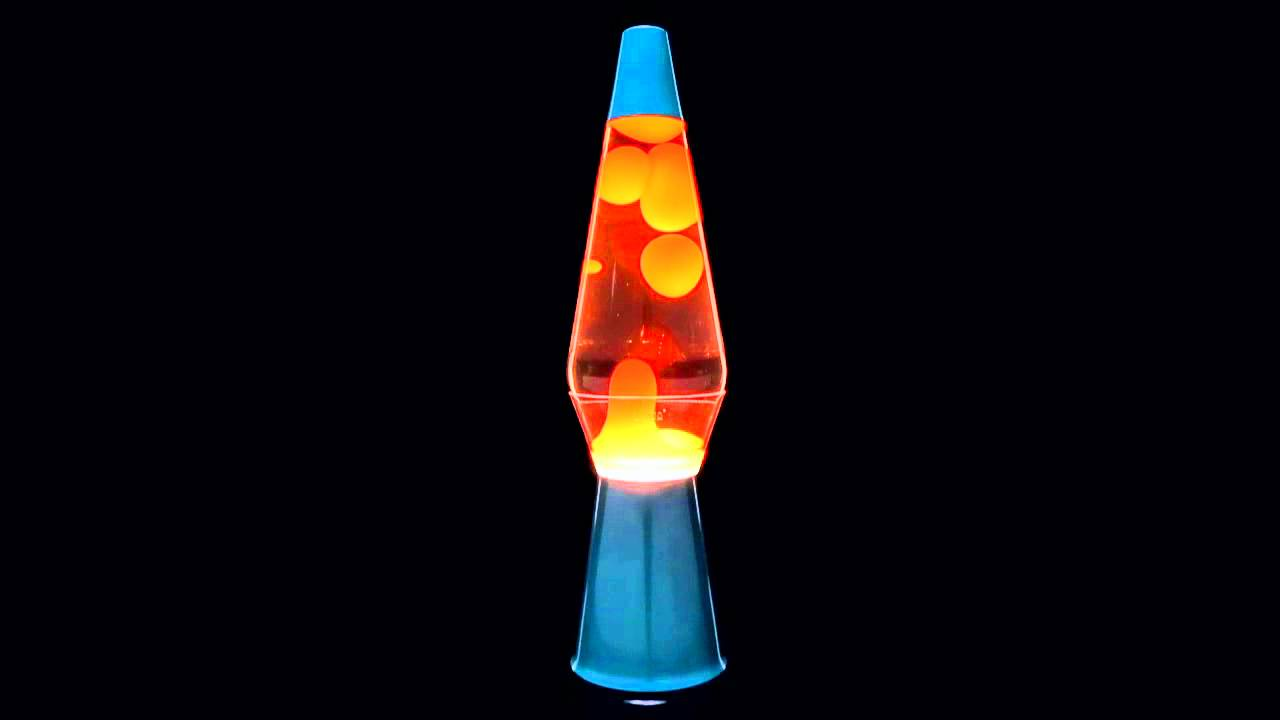 Blue Base with Orange Liquid Lava Lamp - Spencer's - YouTube