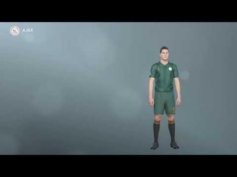 Ajax Uniforme Alternativo 2020 Pes 2019