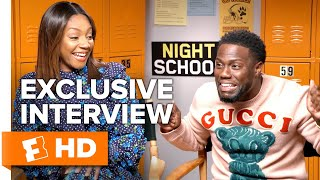 Kevin Hart Does a Hilarious Impression of Tiffany Haddish | 'Night School' Interview