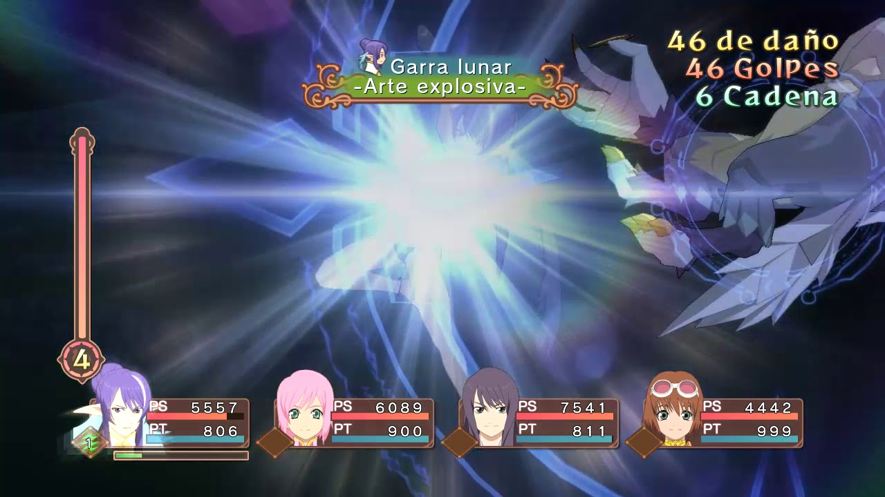 Tales Of Vesperia Definitive Edition Judith Combo 1 Youtube