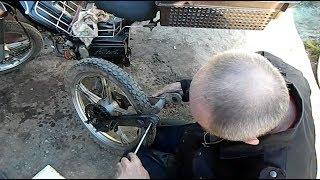 Bu pendulum bu oraliqlar Delta  Tezkor ta'mirlash moped