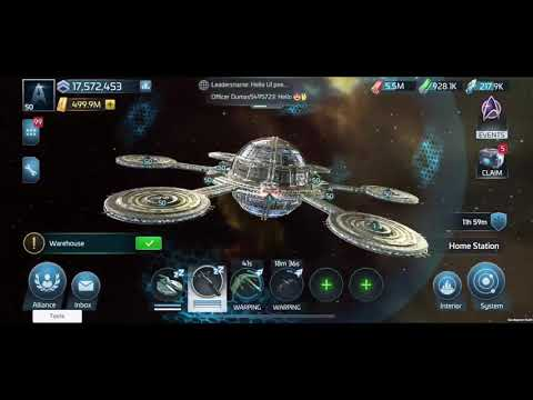 Star Trek Fleet Command Game Play Video