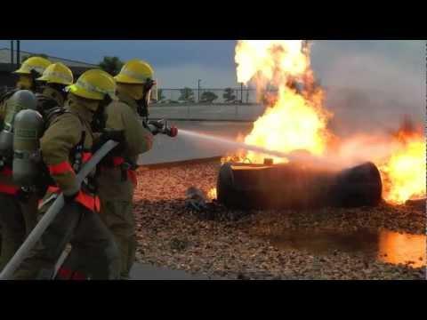 Louis F Garland DOD Fire Academy Class 120222 - YouTube