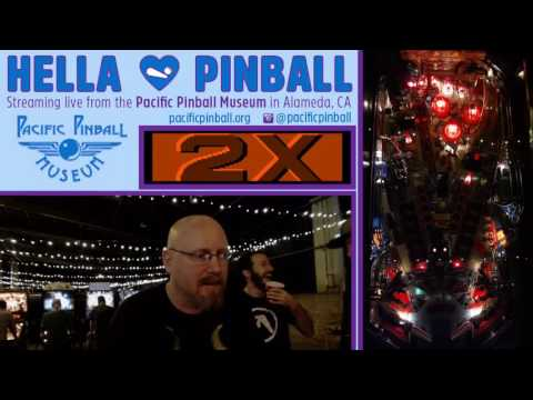 Live from the Pacific Pinball Exposition (Day 2) in Alameda, CA! Williams Terminator 2!