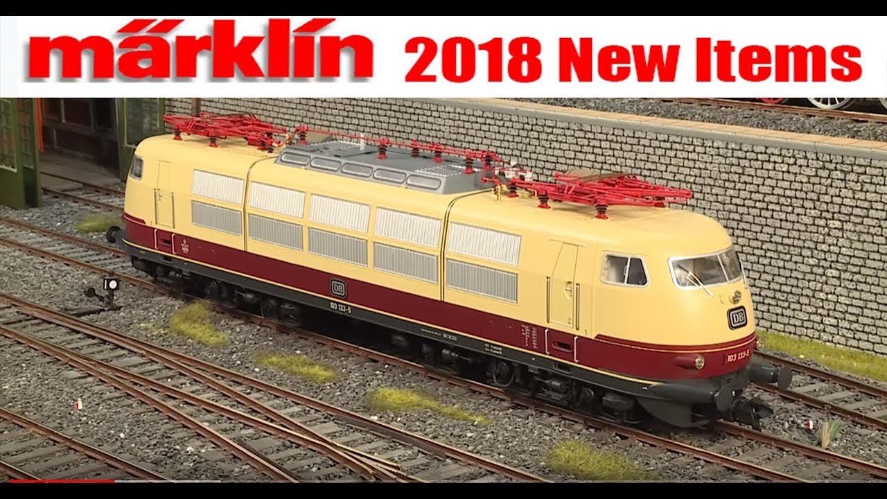 marklin 2018 new items introduced at the international toy fair inmarklin 2018 new items introduced at the international toy fair in germany!