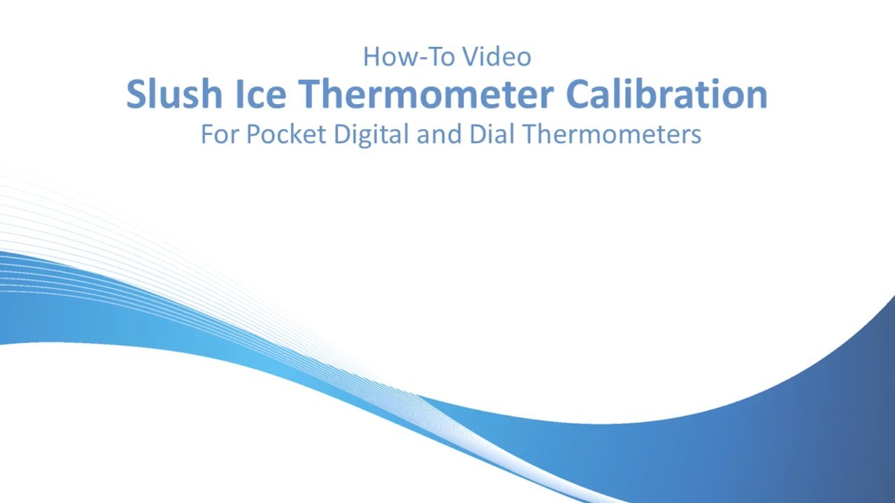 Field Calibration of Thermometers by Comark Instruments