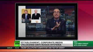 Corporate Media Unleashes Anti-Russia Hysteria