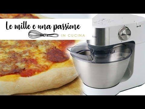 Pizza con l 39 impastatrice youtube - Impastatrice per pasta fatta in casa ...