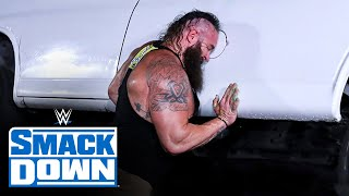 Braun Strowman flips over van with The Miz & John Morrison inside: SmackDown, June 5, 2020