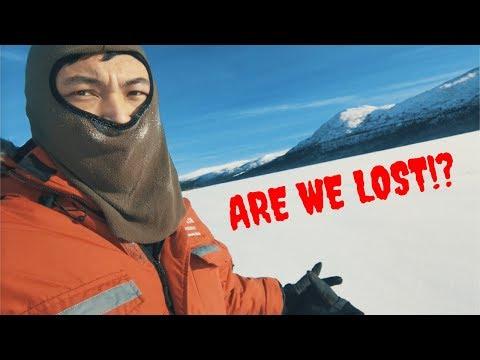 MIDDLE OF NOWHERE! FROZEN LAKE - Whitehorse, Yukon