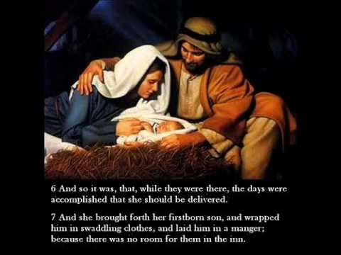 christmas story in biblebirth of jesus
