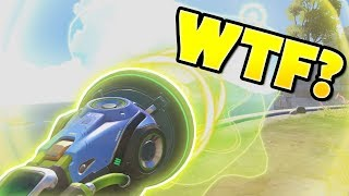 THAT'S Why LUCIO 'BOOP' Is One of The FUNNIEST Abilities - Overwatch Bronze Fails