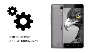 ulefone metal LCD and touch screen (digitalizer) repair/ oprava česky