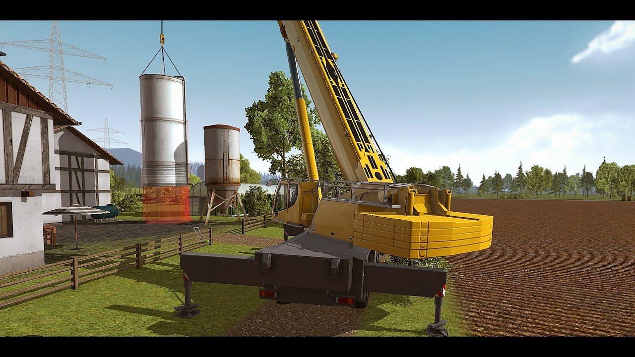 Construction Simulator 2015 - Liebherr LTM 1300 6 2