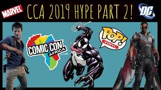 Comic Con Africa 2019: Hype, Celebrity Guests, Autographs and Exclusive Pops and Comics!