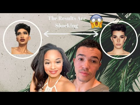 DOING MY HUSBANDS MAKEUP CHALLENGE  + DOES HE LOOK LIKE JAMES CHARLES OR BRETMAN?#shockingresults thumbnail