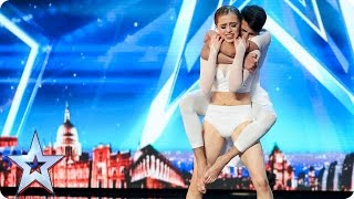 Grace & Ali tell a story with their romantic routine | Auditions Week 4 | Britain's Got Talent 2017