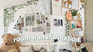 ROOM TRANSFORMATION & TOUR | pinterest inspired!