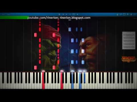 Warcraft II - Tides of Darkness - Human 3 [Piano]