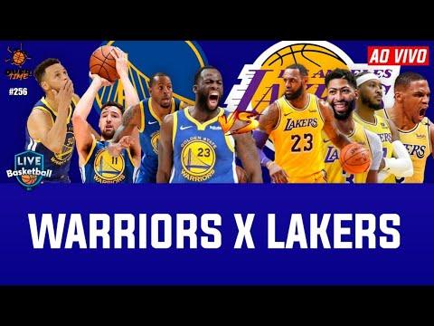 NBA AO VIVO: GOLDEN STATE WARRIORS x LOS ANGELES LAKERS (Pré-temporada)