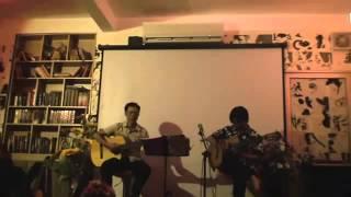Cánh buồm xa xưa - song tấu Guitar Văn Đạo - Quang Nhã - NghiêmHoaTrà, 17/30 ngõ 80 chùa Láng