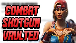 COMBAT SHOTGUN VAULTED! RETAIL ROW NERFED? NEW FORTNITE PATCH NOTES *REACTION*