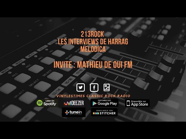 213Rock Harrag Melodica 🎧 Podcast 🎧 Converstion avec Mathieu Are you Metal ?