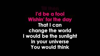 CHANGE THE WORLD KARAOKE ERIC CLAPTON