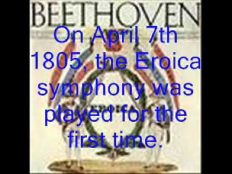 Beethoven's Biography (through pictures)