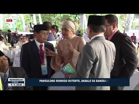 NEWS BREAK: PRRD, dadalo sa Bangsamoro General Assembly sa Sultan Kudarat, Maguindanao ngayong araw