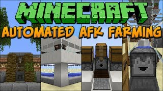 Minecraft: Automated AFK Farming Tutorial