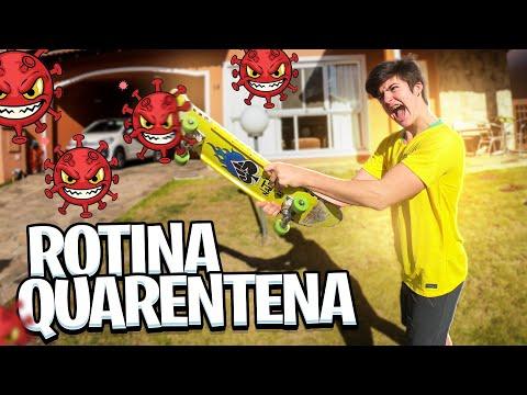 MINHA ROTINA NA QUARENTENA! 4