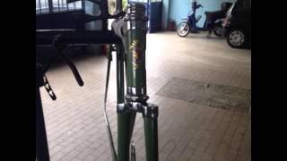 Bici d'epoca,  Restauro bici fine anni 40