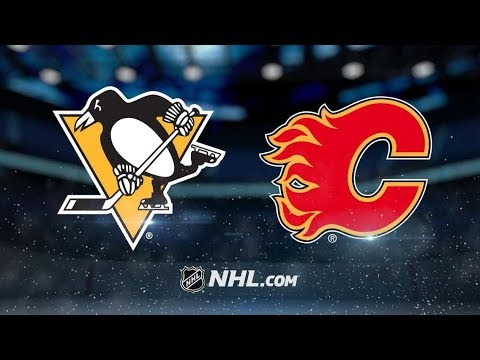 Pittsburgh Penguins vs Calgary Flames | Oct.25, 2018 | Game Highlights | NHL 2018/19 | Обзор Матча