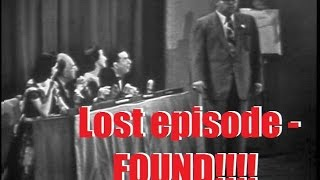 What's My Line? - LOST EPISODE!!! Kathleen Winsor, mystery guest (Oct 1, 1950)