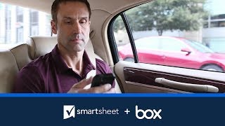 Smartsheet and Box