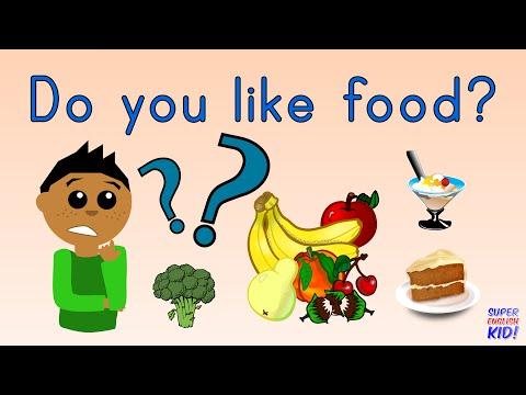Do you like food? Song for kids. | Super English Kid! (Fruits, Vegetables, Meat, Dessert)