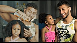 Daddy does Daughter hair - LOL ft Adriano and Amelia