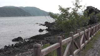 桜島 南西部 溶岩なぎさ遊歩道 遊歩百選 2015年04月29日 Vocano Sakurajima