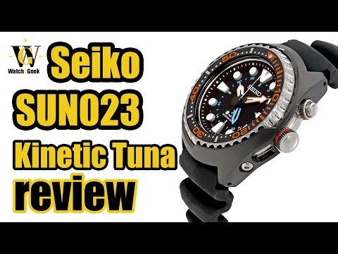 Seiko Prospex Kinetic GMT - SUN023 a.k.a. Kinetic Tuna Review & How to setup & use