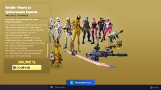 Opening Package SUPREME founder FORTNITE-Upgrade Ultimate Funder's pack Fortnite
