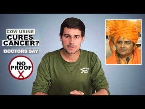 Dhruv Rathee Calls Bluff On Pragya Thakur's Claims Of Cow Urine Curing Her  Cancer | Episode 2